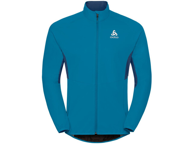 Odlo Aeolus Element Warm Jacket Herren blue jewel-poseidon